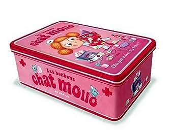 Boîte à pharmacie Chat Mollo - Rose - Editions de Mai - Rose