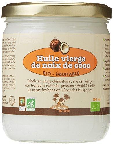 Huile Vierge de Noix de Coco bio & équitable
