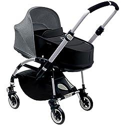 Bugaboo Bee3 Stroller & Bassinet - Grey Melange - Black - Aluminum by Bugaboo