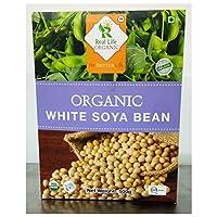Real Life ORGANIC White Soya Bean, 500 grams