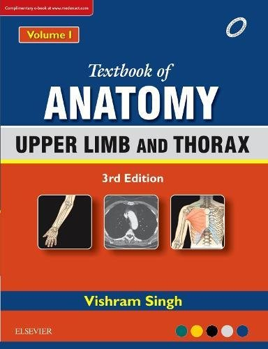 Textbook of Anatomy  Upper Limb and Thorax; Volume 1, 3e