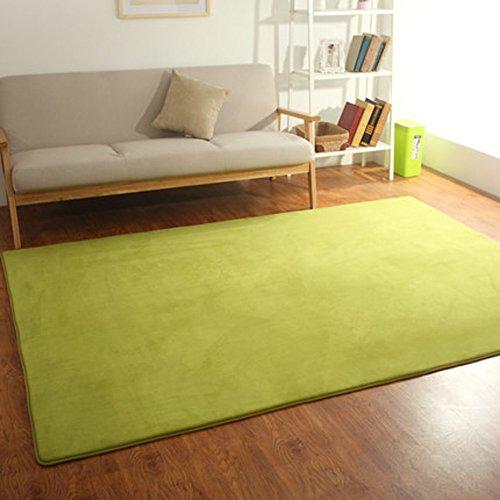 Esteras mesa de té,sofá dormitorio arroz de cabecera alfombra verde-A 140x200cm(55x79inch)