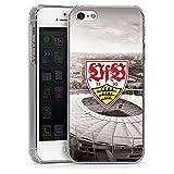 DeinDesign Apple iPhone SE Hülle Case Handyhülle VfB Stuttgart Fanartikel Stadion