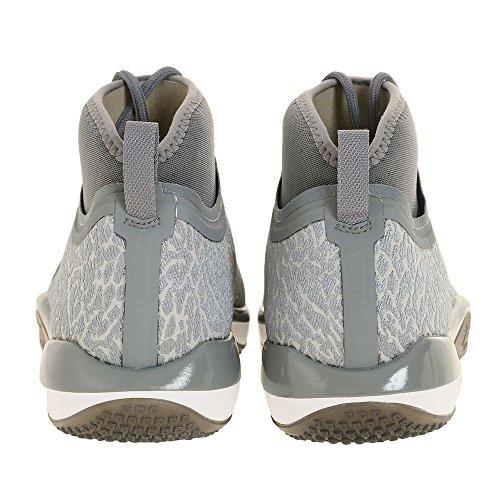 Nike 845402-002, Scarpe da Basket Uomo Grigio