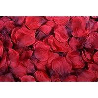 Flomans® 400 rote Rosenblüten Rosenblätter Streublumen Hochzeit Deko Valentinstag Fasching