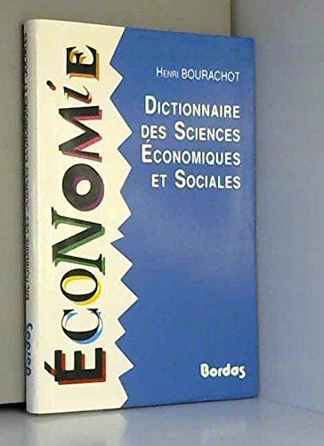 BOURACHOT/DICT.SC.ECO.SO    (Ancienne Edition)