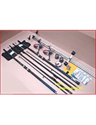 Mitchell Sea Fishing 13 ft Kit 2 Rods 2 Reels Tripod & Tackle Beach, Beachcaster Beachcasting