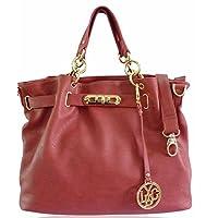 New Leather Style Women Shoulder Handbag Ladies Designer Tote Satchel Bag