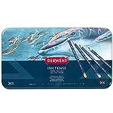 Derwent 2301842 Inktense Permanent Watercolour Pencils, Multi-Colour, Set of 36