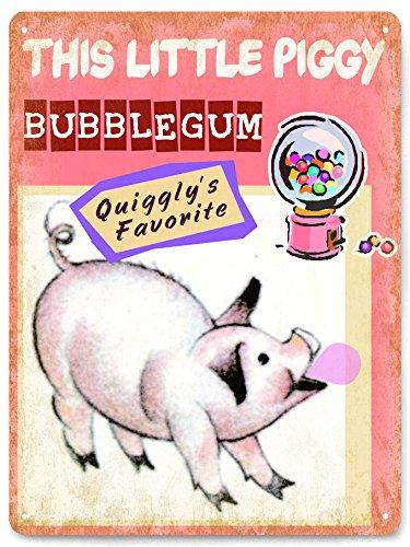 pig-bubble-gum-vintage-antique-sign-candy-retro-candy-shop-decor-351