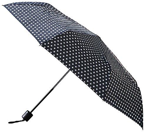 nina-casari-womens-umbrella-black-noir-noir-pois-blancs-sizetaille-unique-taille-fabricant-taille-un