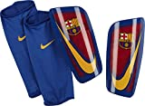 Nike Herren FC Barcelona Mercurial Lite Knieschoner, Prime Red/Game Royal, L