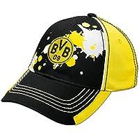 BVB-Kappe Farbkleksmuster für Kinder (schwarz)