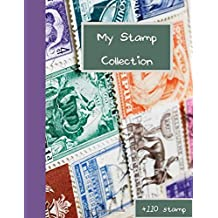 My Stamp Collection +110 stamp: stamp albums for collectors   stamp book collection album   more than 110 stamp (8.5 X 11 inches)