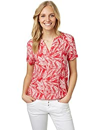 Tom Tailor für Frauen Shirt / Blouse Bluse mit floralem Muster