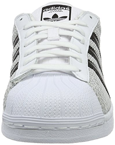 adidas Superstar, Baskets Basses Mixte Adulte Blanc
