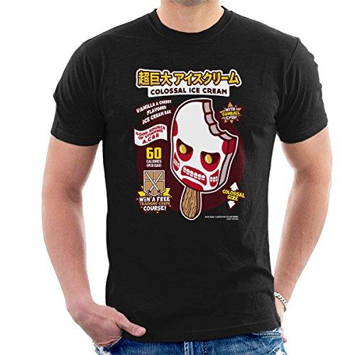 Colossal Ice Cream Attack On Titan Men's T-Shirt
