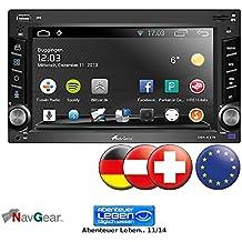 """NavGear StreetMate 2-DIN Autoradio mit 6""""-Navi DSR-N 270 Europa"""