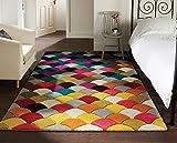 Tappeto Spectrum Jive - Design Astratto Moderno & Dinamico - Colorato - 80x150cm