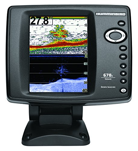 Humminbird 678cx HD DI DownImaging Farbecholot Festmontage Echolot