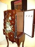 Joyero-de-madera-Mueble-joyero-con-espejo-4-cajones-y-2-puertas-laterales-para-colgar-collares-y-colgantes