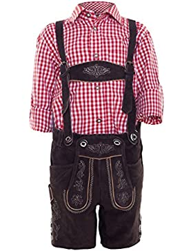 Michaelax-Fashion-Trade Krüger - Kinder Trachten Lederhose, Kaiser Junior (930-7)