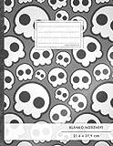 """Blanko Notizbuch • A4-Format, 100+ Seiten, Soft Cover, Register, """"Jugendlich"""" • Original #GoodMemos Blank Notebook • Perfekt als Zeichenbuch, Skizzenbuch, Sketchbook, Leeres Malbuch"""