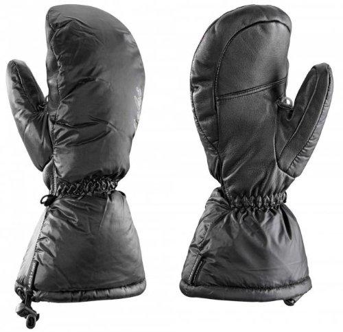 LEKI Damen Handschuhe St. Moritz Lady, Schwarz, 7, 631849027
