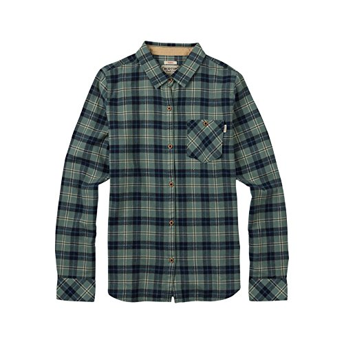 Burton Damen Grace LS Woven Hemd, Eclipse Haze Plaid, L (Plaid Woven-sport-shirt)