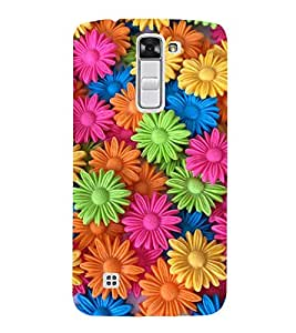 Vizagbeats Decoration Flowers Back Case Cover for LG K10
