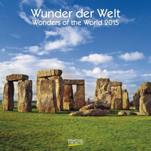 Wunder der Welt 2015. Broschürenkalender