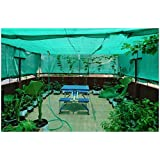 Armor Shade Net/Garden Net Greenhouse UV Stabilized 50% Shade {Green} with Free One Pair of Multipurpose Gardening Gloves (5mtrX3mtr)