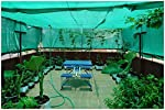 Armor Shade Net/Garden Net Greenhouse UV Stabilized 50% Shade {Green} with Free One Pair of Multipurpose Gardening Gloves