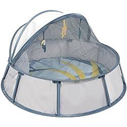 Babymoov Babyni Tropical - Pop-Up Reisebett, Spielpark für Babys, UV-Schutz 50+, weiche Matratze, inkl. Moskitonetz, 94 x 94 x 61 cm