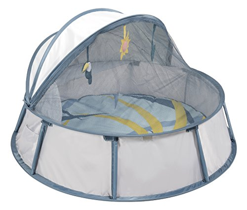 Babymoov Babyni Pop-Up 3-in-1 UV tent / Playpen /Activity Gym  (Tropical) 51xjZoLgvoL