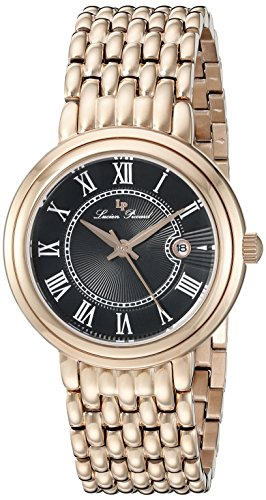 Lucien Piccard Womens Analogue Quartz Watch with Stainless Steel Strap LP-16539-RG-11
