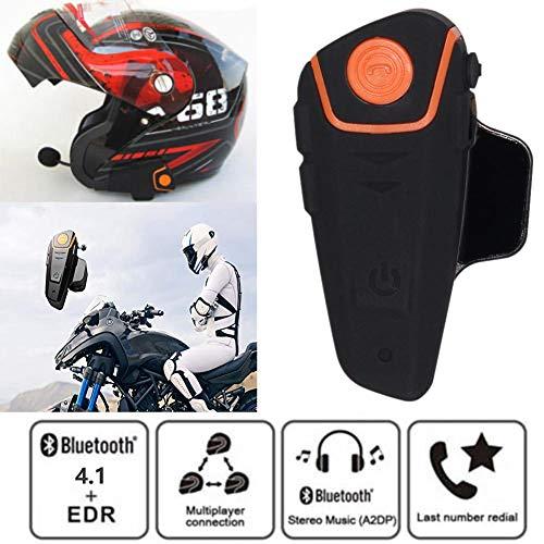 TARTIERY BT-S2 Intercomunicador Casco Moto Bluetooth Auriculares Manos Libres para Casco Moto...