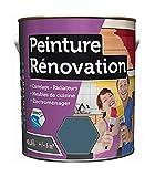 Peinture 0,5 Litre BLEU PETROLE Spécial rénovation carrelage cuisine radiateur electromenage
