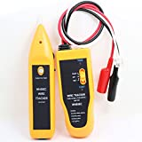 nuzamas Netzwerk Tester Handheld Kabel Tracer mit Kopfhörer High Sensitive Telefon Kabel Tester Draht Finder, Telefon Line, Kontinuität Überprüfen, LAN Ethernet RJ45RJ11