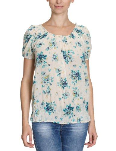 VILA CLOTHES Damen Shirt/ T-Shirt 14005921 Beige (VANILLA.)