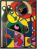 ORIGINAL Kunstwerk Gemälde/ 120 x 90 cm/ In jede Richtung aufhängbar/ Malerei/ Acrylbild/ Abstrakte Kunst/ Zeitgenösische Kunst/ Moderne Kunst/ Figurativ/ Bilder/ Deko/ Wanddeko