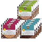COOKIE BIG BOX von eat Performance (15 x 40g) || Bio | Paleo | ohne Zuckerzusatz | Gebäck | glutenfrei | laktosefrei | low carb | eiweißreich | superfood | clean eating
