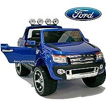 Babycoches - Coche eléctrico para niños Ford Ranger XLS , con Licencia Oficial, Modelo 2017
