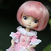 Peluca de muñeca Elegante para decoración de Pelo sintético o Rizado, ...