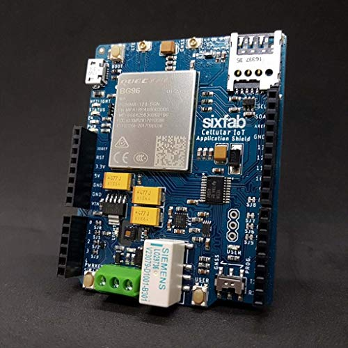 Sixfab Arduino Cellular IoT Application Shield â€
