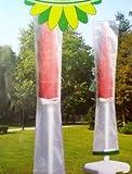 Schutzhülle für Sonnenschirme 180 - 200 cm Ø Schirmhülle Schirmhaube Plane Hülle aus PE transparent