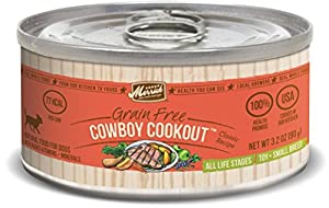 Merrick Classic 3.2-Ounce Small Breed Cowboy Cookout Dog Food, 24 Count Case