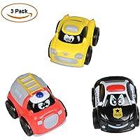 Tire hacia atrás los vehículos, EarthSave Mini Cars Juguete Tire hacia atrás los vehículos para niños