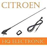 Citroen Bx, Berlingo, C1, C2, C3, C4, C5, JUMPER, Saxo, XANTIA, xara techo Antena con antena Soporte & Junta