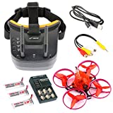 GEHOO GH Snapper Brushless Whoop Racing Drone BNF Tiny 75mm FPV 700TVL HD Camera VTX Video Goggles for Frsky RX from GEHOO GH